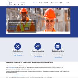 Online Marketing Projekt Monteurzimmer Vermietung Grevenbroich