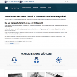 Online Marketing Projekt Steuerberatung Geurink