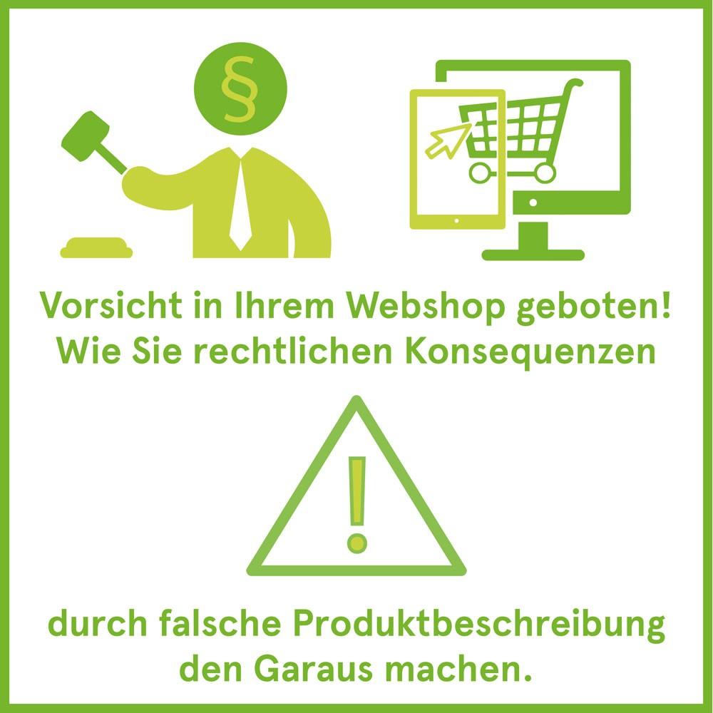 Online shop erstellen: rechtliche Aspekte beachten